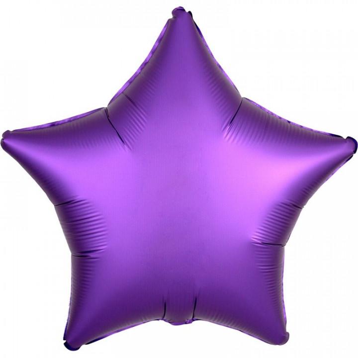 Звезда Фиолетовая Сатин Люкс в упаковке