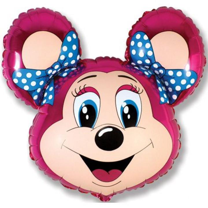 Лолли-мышонок фуксия