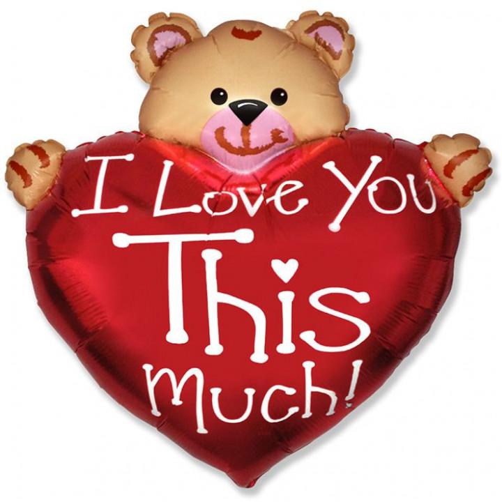 Мишка Я тебя люблю