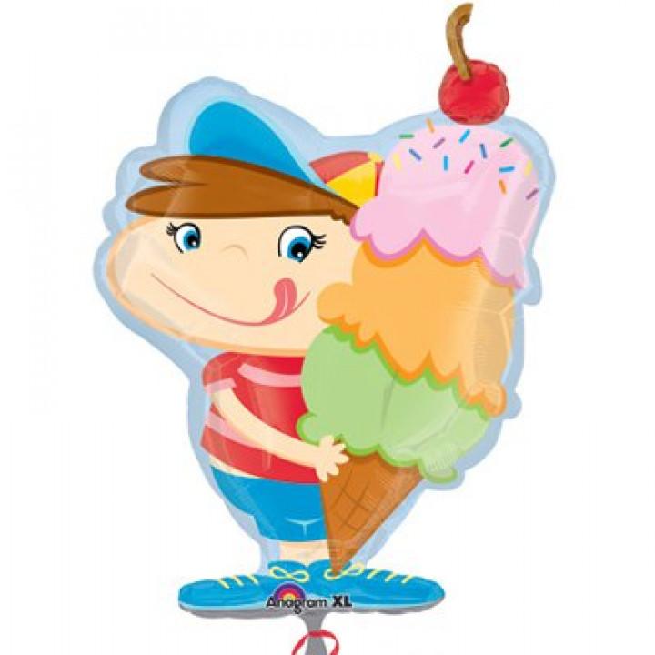 А ФИГУРА/P35 Мальчик с мороженым