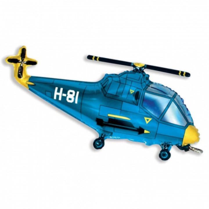FM Фигура гр.3 И-160 Вертолет голубой 57см X 96см